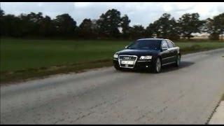 Audi A8 S8 (4E) V10 mit Supersport Auspuffanlage / Sports Exhaust
