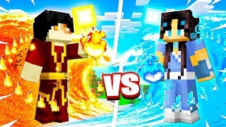 HOW TO BEND WATER, EARTH, FIRE AND AIR IN MINECRAFT!