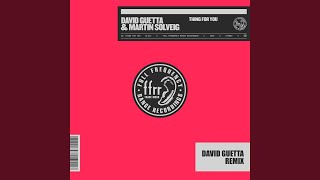 Thing For You (David Guetta Remix) (Extended)