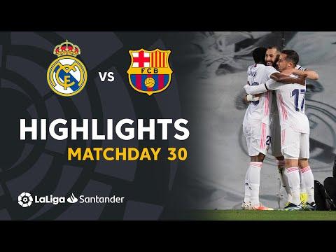 Highlights Real Madrid vs FC Barcelona (2-1)