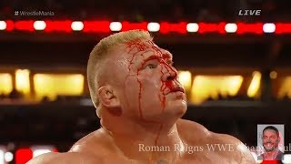 Roman Reigns Vs Brock Lesnar Steel Cage Match   Royal Rumble Full Match