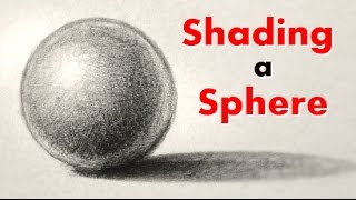 How to Draw and Shade a Sphere the Easy Way