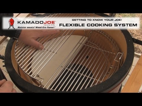 Kamado Joe Divide & Conquer Flexible Cooking System