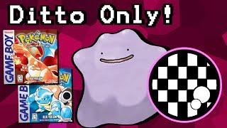 Can You Beat Pokemon Red/Blue With Only a Ditto? - dooclip.me
