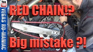 Biggest mistake people make when they Replace the Motorcycle Chain