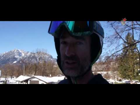 Grundtechniken des Rennrodeln auf Naturbahn mit Patrick Clemens