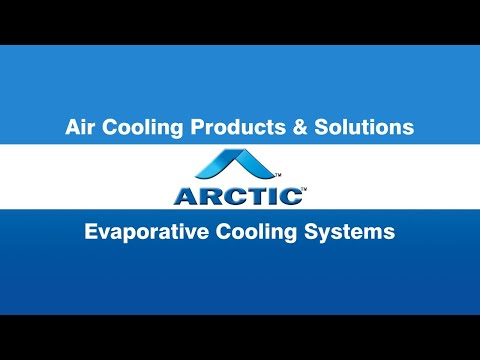 Industrial Evaporative Cooling System