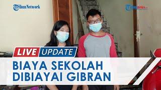 Nasib 3 Anak Yatim Piatu di Solo Setelah Ayah Meninggal karena Covid-19, Gibran Jamin Pendidikannya