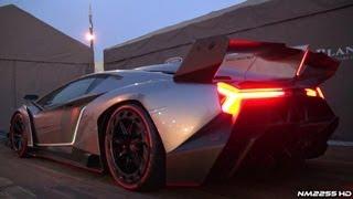 Lamborghini Veneno SOUND - Start Up And REVS!!