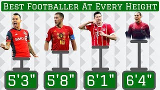 """Best Footballer At EVERY Height (5'1"""" to 6'11"""")"""