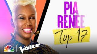 "Pia Renee Performs Jazmine Sullivan's ""Need U Bad"" - The Voice Live Top 17 Performances 2021"