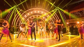 Strictly Group Dance to 'I Wanna Dance With Somebody' - Strictly Come Dancing: 2015