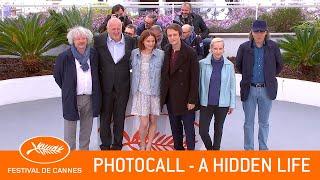 A HIDDEN LIFE   Photocall   Cannes 2019   EV