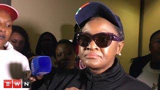 Bathabile Dlamini refuses to answer questions on Magwaza