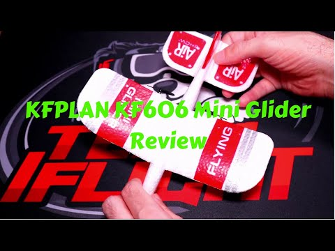 KFPLAN KF606 2.4Ghz 2CH EPP Mini Glider Review