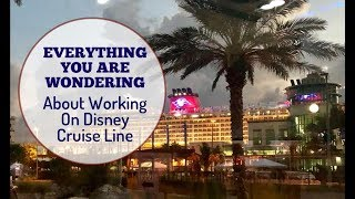 Everything You're Wondering About Working on Disney Cruise Line!