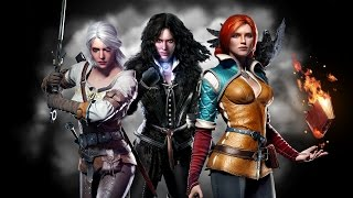 TES V Skyrim Mod - Witcher 3 Yennefer and Triss Armors [FULL HD]