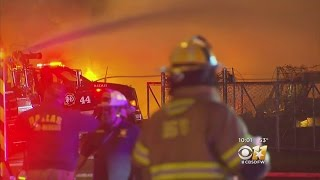 4-Alarm Fire Damages 3 Businesses In Balch Springs