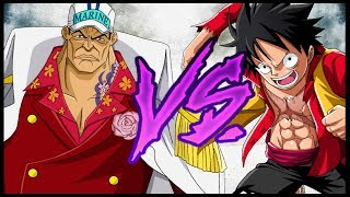 The Straw Hats Vs. The Admirals - One Piece Discussion