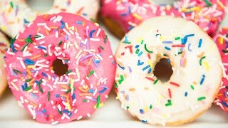 How to Make Donuts Two Ways: Baked Doughnuts and Fried Doughnuts