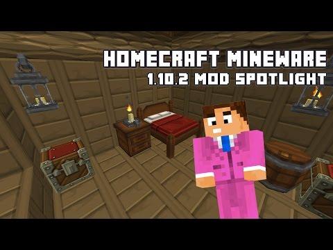 Homecraft Mineware - 1.10.2 Mod Spotlight/Showcase