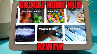 Google Home Hub Review - Everything it can do!