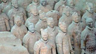 Video : China : The Terracotta Warriors at Xi'An 西安