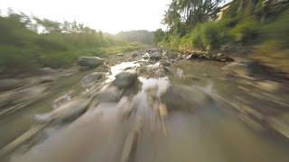 FPV Freestyle : Kali Progo Puri Tuksongo Magelang Freestyle Flow