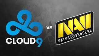 Ru  NAVI vs Cloud9 — ESL One Cologne — by Anishared & Sleepsomewhile