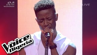 "Chike Sings ""Earned It""  Live Show  The Voice Nigeria 2016"