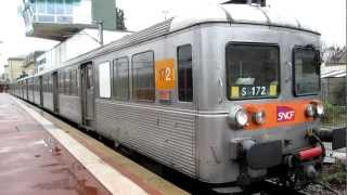 preview picture of video '[Paris] Z6100 TRIA - Pontoise départ (Ligne H Transilien)'