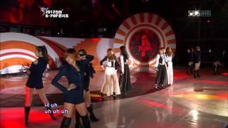 4Minute - Volume Up [SBS 2012 Incheon K-Pop Concert]  Live HD