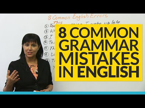 , title : '8 Common Grammar Mistakes in English!