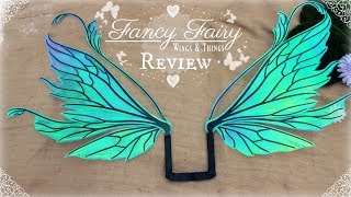 Fancy Fairy Wings And Things Review & Unboxing | WHERE TO BUY REALISTIC FAIRY WINGS FOR COSPLAY