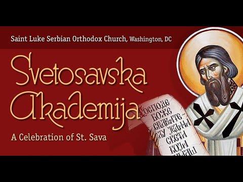 The Serbian Orthodox Church Of St. Luke Celebrates St. Sava In Washington DC