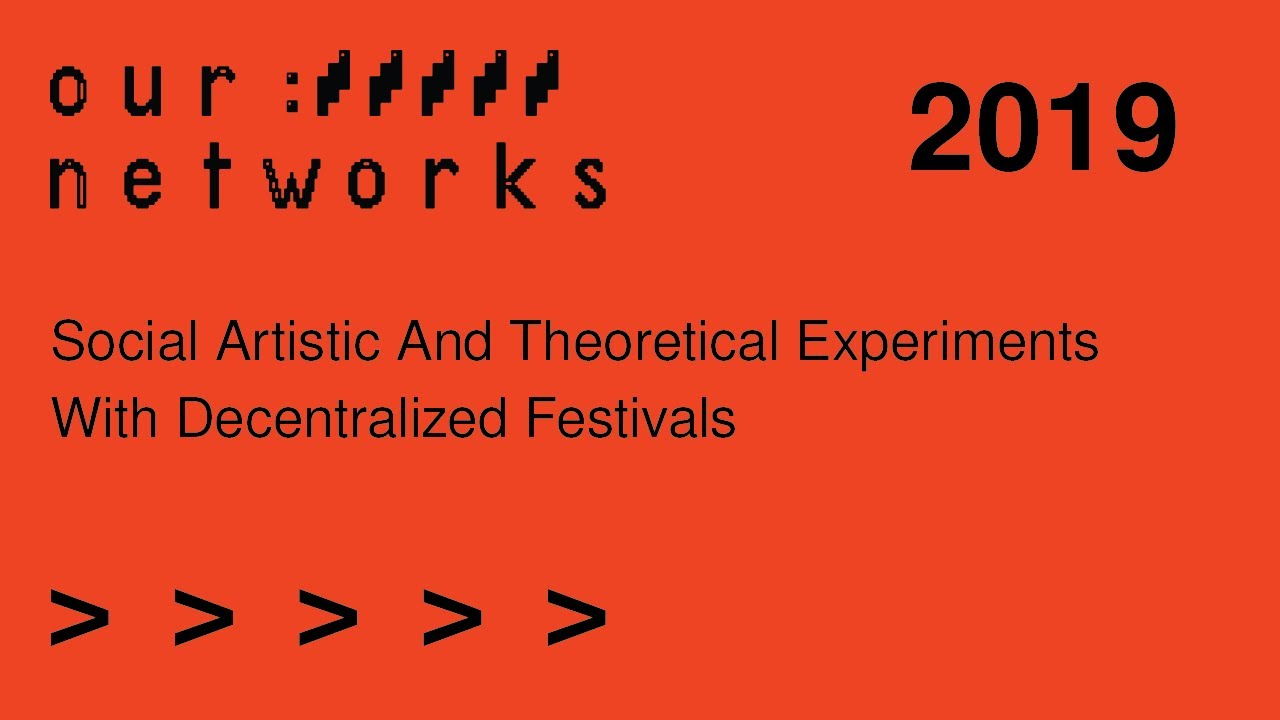 Video thumbnail for Social, artistic, and theoretical experiments with decentralized festivals