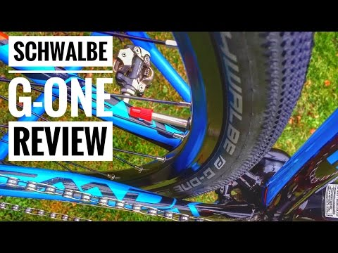 Schwalbe G-One First Look and Review