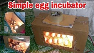 चूजे निकालने का आसान तरीका | simple egg hatching
