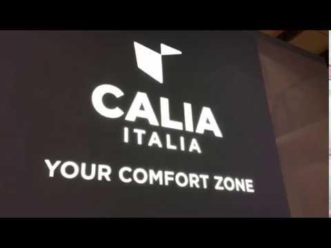 Calia Italia - Salone del Mobile Milano 2018