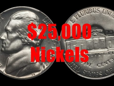 Top 5 Jefferson Nickels Worth Over $25,000
