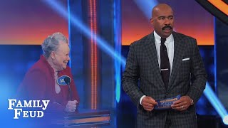 HOT WHAAT???   Celebrity Family Feud