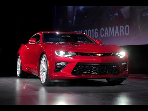 2016 Chevrolet Camaro Debut - First Look