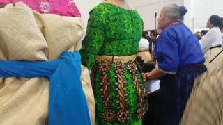 Our last Sunday in Tonga.. Last hymn then National Anthem