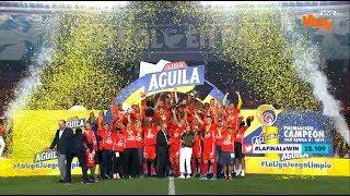 América vs. Junior (2-0) - Liga Aguila 2019-2 | Final Vuelta