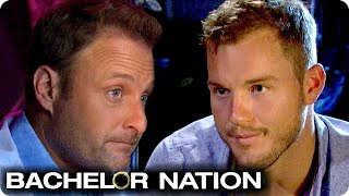 Colton Vents To Chris Harrison Over Hannah B/Caelynn Feud | The Bachelor US