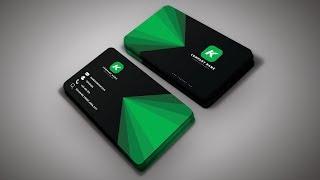 Photoshop Tutorial - Business Card Design