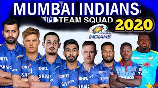 IPL 2020 Mumbai Indians Team Squad   Mumbai Indians Probable Squad in IPL 2020   MI Players List
