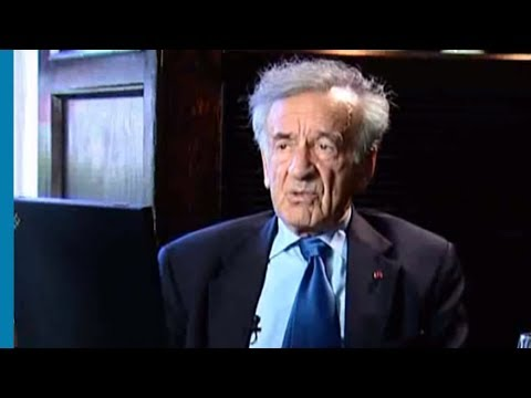 Elie Wiesel speaks about his father and the significance of memory