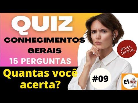 DESAFIO QUIZ DE CONHECIMENTOS GERAIS   NVEL DIFCIL #9