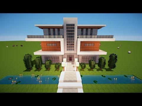 Wie Baut Man Ein Großes Haus In Minecraft Minecraft Großes Haus - Minecraft hauser bauen tutorial